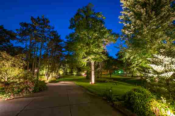 landscape lighting to extend your outdoor living