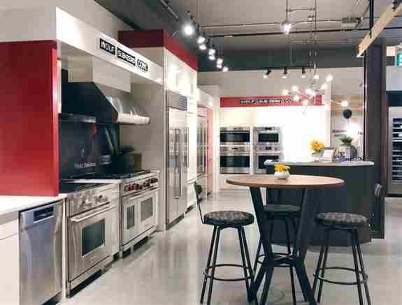 Sub-Zero & Wolf Appliance Showroom