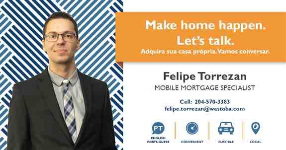 Felipe Torrezan, Mobile Mortgage Specialist