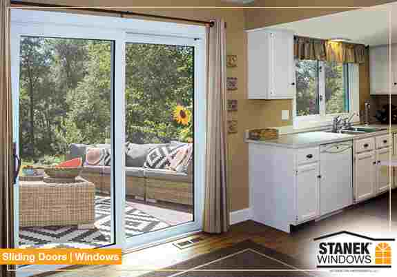 Like all our windows, sliding patio doors and windows are custom made to the exact size of your opening.