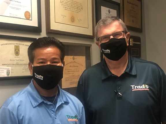 Here at Trad's, we can handle any pest situation you're dealing with. Our pest control is fast, effective, straightforward, and affordable.