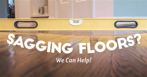 Sagging Floor Repairs