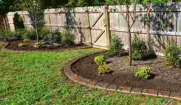Add curb appeal to your fence line.