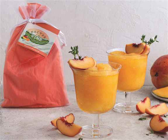 Peach Mango! You can't go wrong with this delicious peach flavor.  Many options with this flavor, make it with champagne for a Peach Bellini, may favorite make it with Malibu Rum, that coconut & peach flavor is phenominal!  Or vanilla vodka for a creamcyc