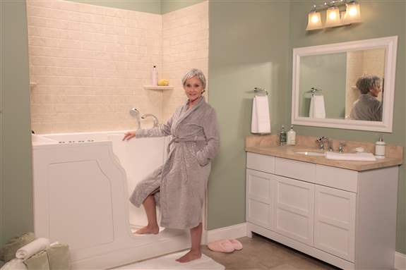 Therapeutic Walk In Safety Bathtubs by L.J. Stone Company