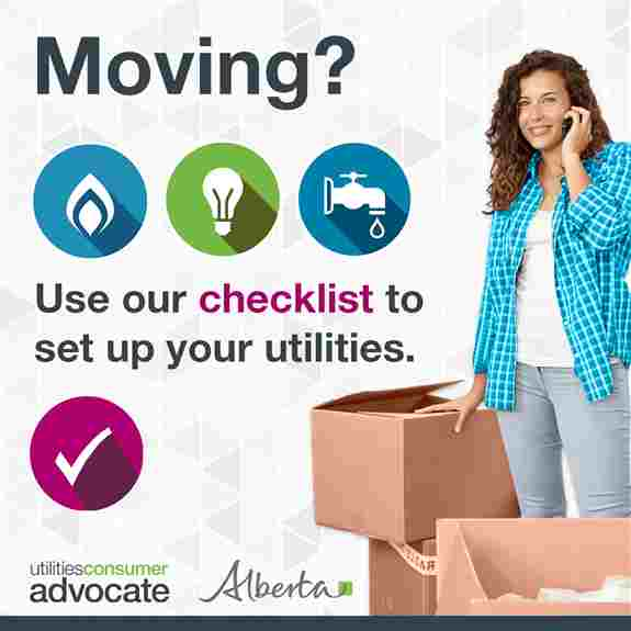 Moving? Use our checklist to set up your utilities.
