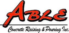 Able Concrete Raising & Pouring