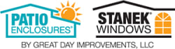 Patio Enclosures & Stanek Windows by Great Day Improvements , LLC