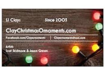 SJ Clay Ornaments