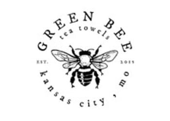 Green Bee Tea Towels