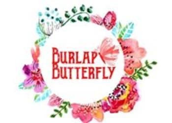 BURLAP BUTTERFLY