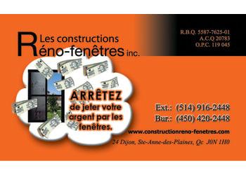 Construction Réno-fenêtre Inc.