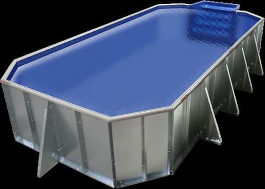 The Cool Pools Grecian option with blue liner. Available in 4 sizes.