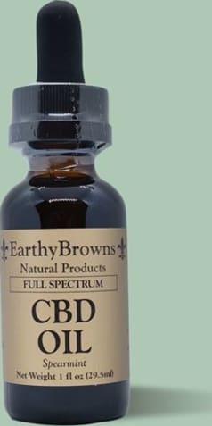 600 mg Full Spectrum CBD oil (1oz)in natural or spearmint flavor $45