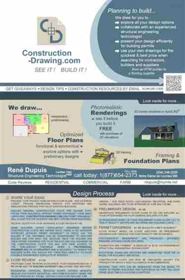Construction-Drawing.com brochure cover