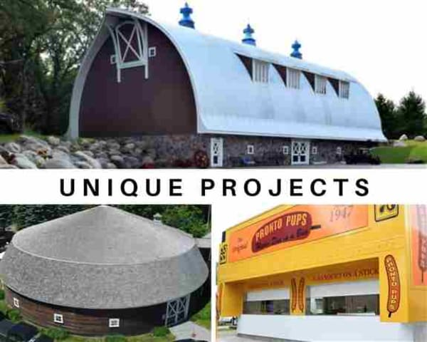 It has been a joy and a privilege to have built some uniquely stylish, functional, and creative structures. Whatever your unique project needs are, we're confident that we can exceed them.