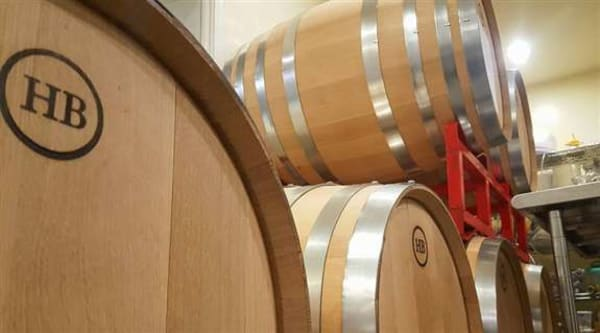 Most of our red wines age in oak barrels for a minimum of 6 months, some has been aging for over two years!