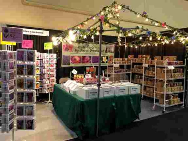 Booth #121 at the NW Flower & Garden Festival