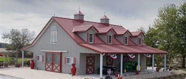 Example of a custom Morton home.