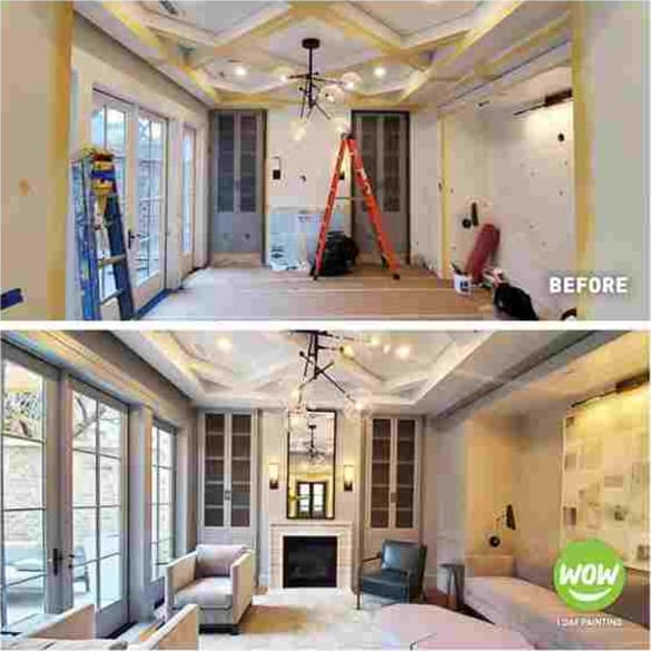 WOW 1 DAY PAINTING has made the process of getting your house's interior painted a whole lot less annoying. We deliver both speed and quality, so you don't have to shift your whole life around just to get your house painted.