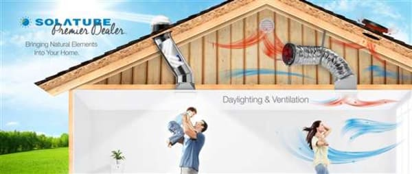 As a Solatube Premier Dealer we are here for all your Daylighting & Ventilation needs.