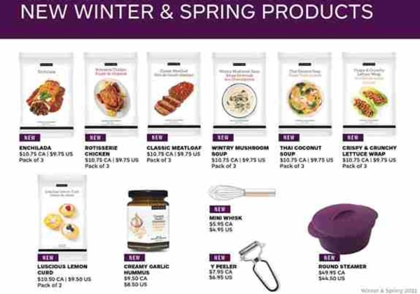 New Epicure Products for January 2021