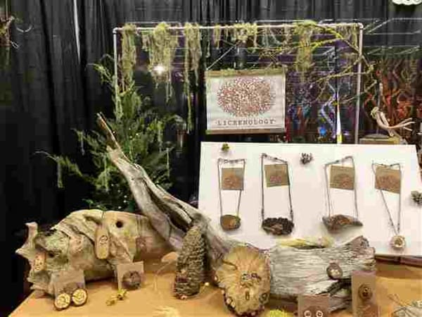 Lichenology booth #108 at 2020 Flower and Garden Show
