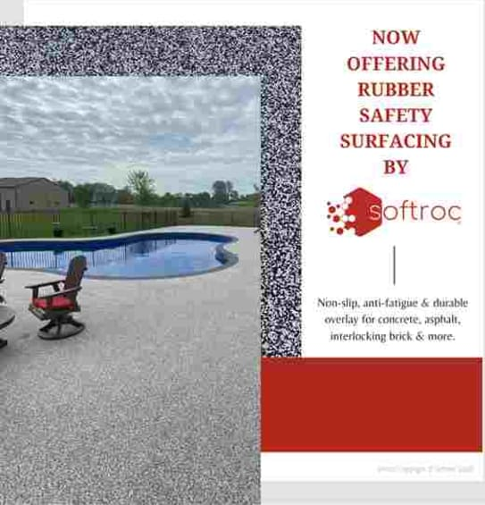 Softroc Rubber Safety Surfacing