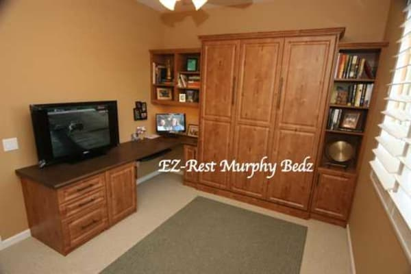Home Office with Murphy bed