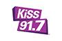 Kiss 91.7 logo