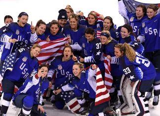 U.S. Women Ice-Hockey Team