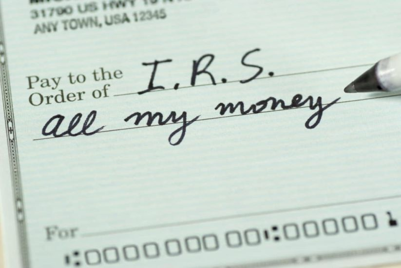 The Internal Revenue Service (IRS) is relentless and if you owe them money