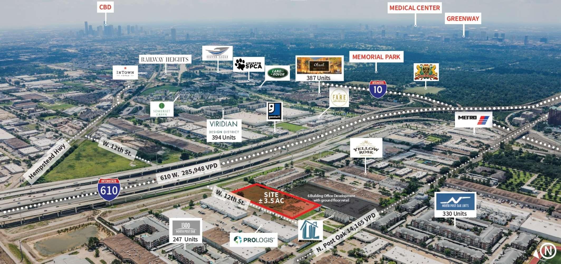 Industrial Houston, 77055 - 4427 W 12th St