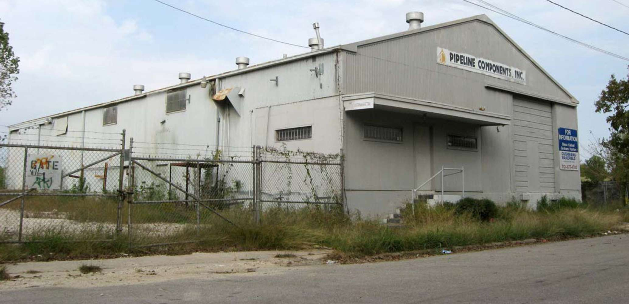 Industrial Houston, 77009 - 1813 Luzon St