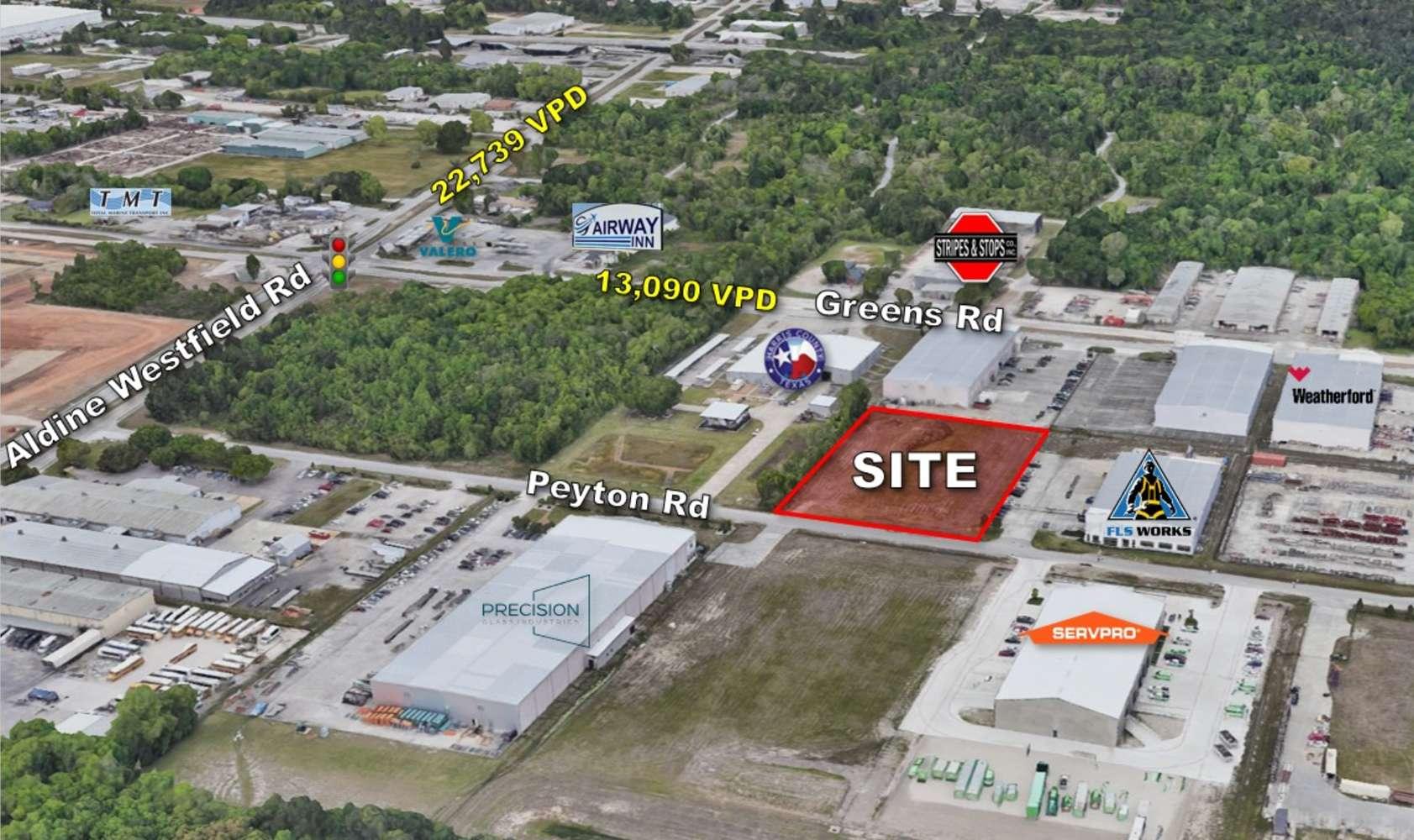 Land Houston, 77032 - 2417 Peyton Road
