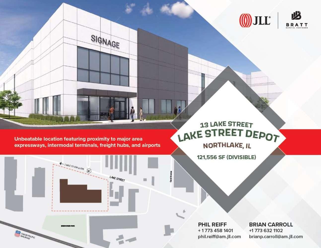 Industrial Northlake, 60164 - spec redevelopment