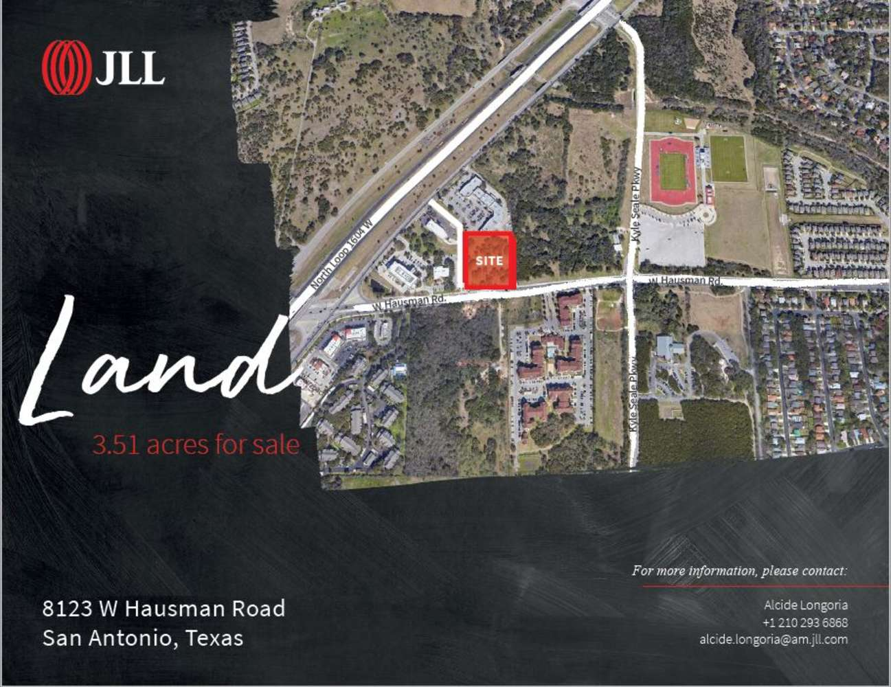 Land San antonio, 78249 - 8123 W Hausman Rd