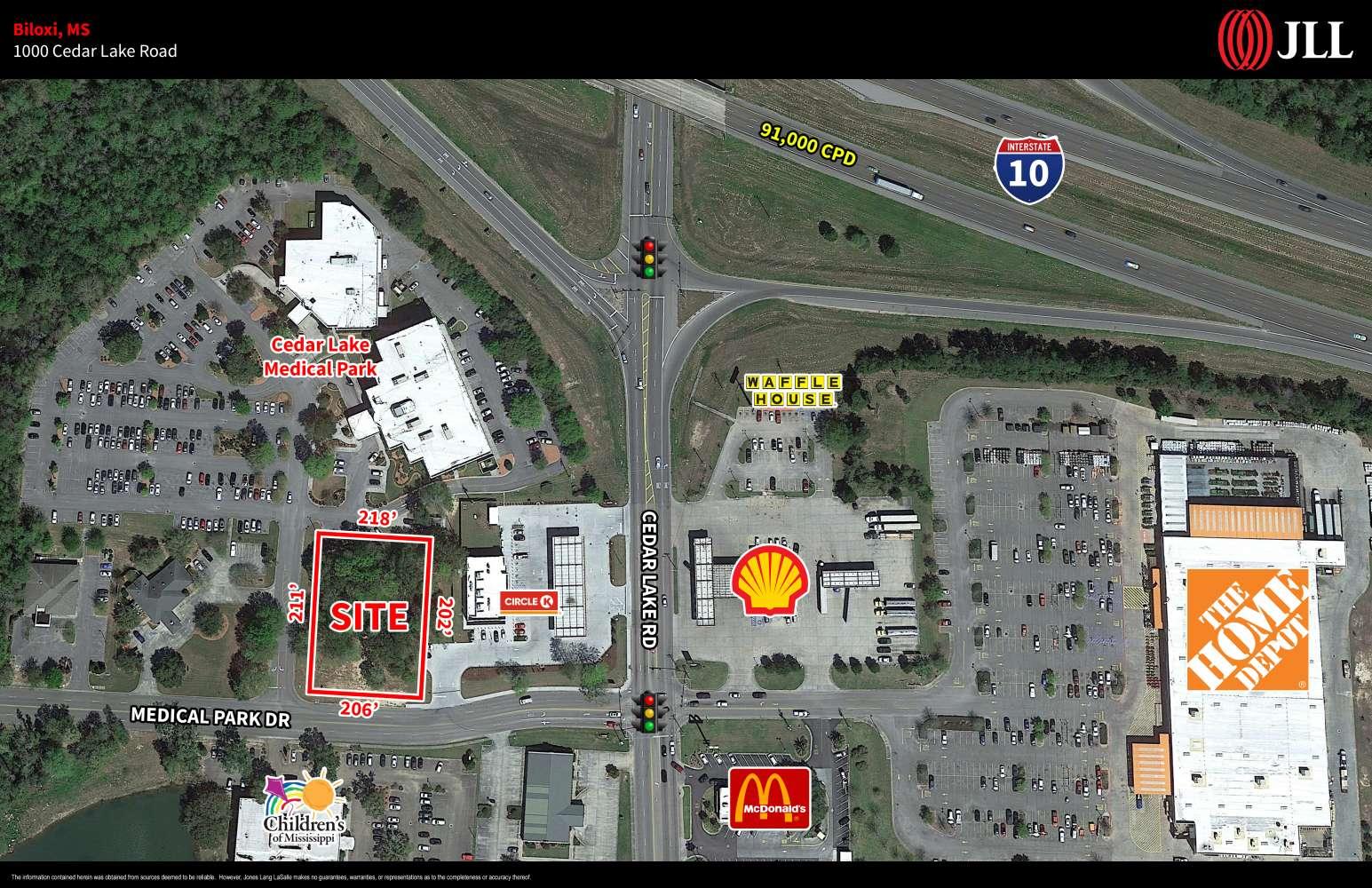 Land Biloxi, 39532 - 1000 Cedar Lake Road