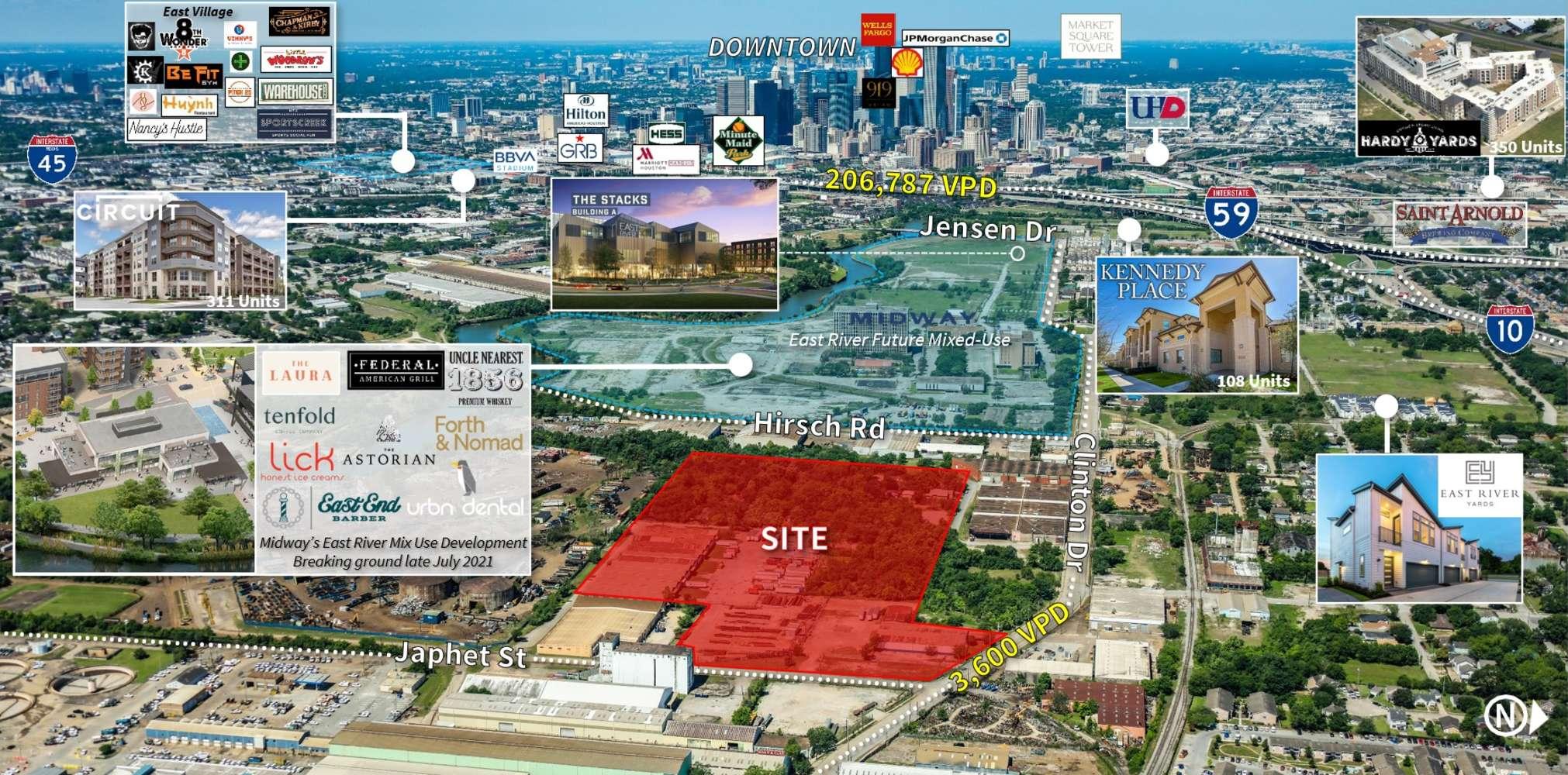 Industrial Houston, 77020 - 4720 Clinton Dr