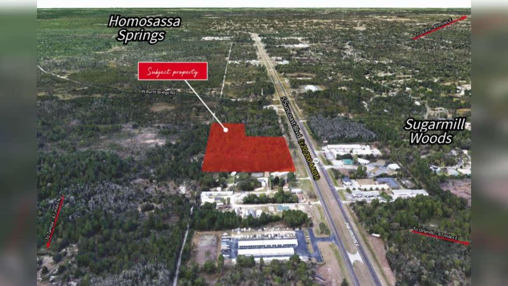 Land Homosassa, 34446 - U.S. 19 & Cypress Blvd West