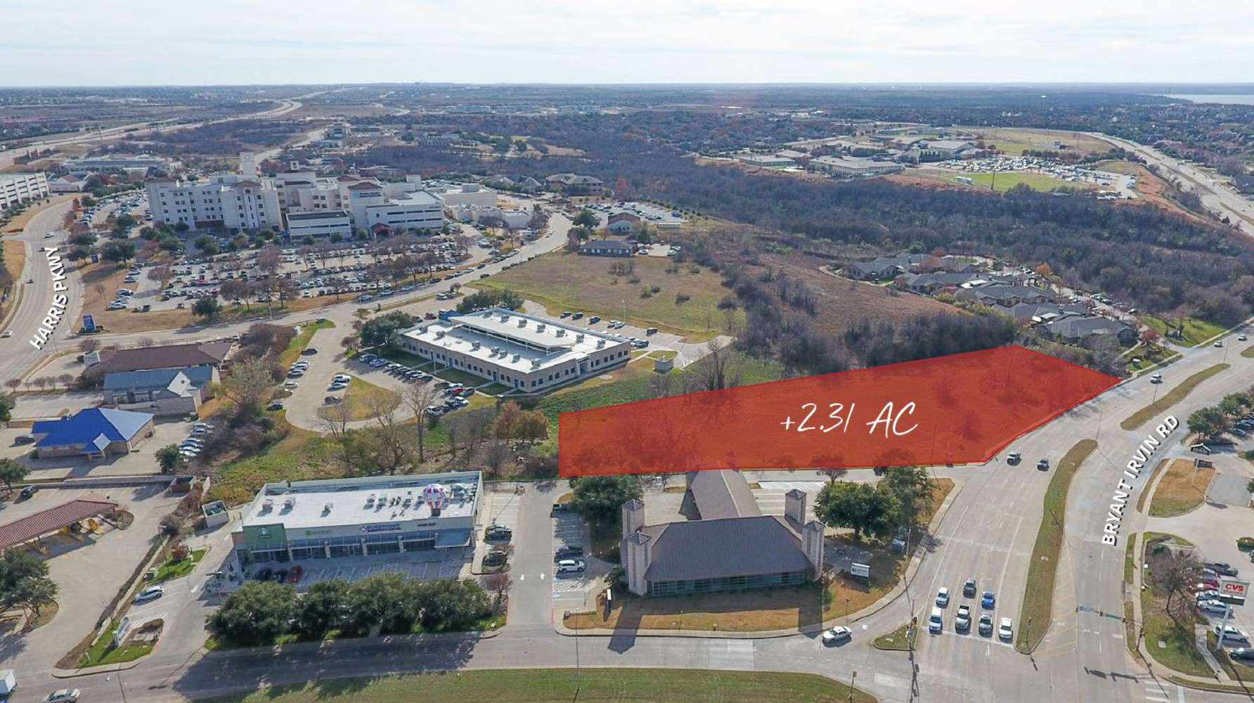 Land Fort worth, 76132 - 6021 Bryant Irvin Rd