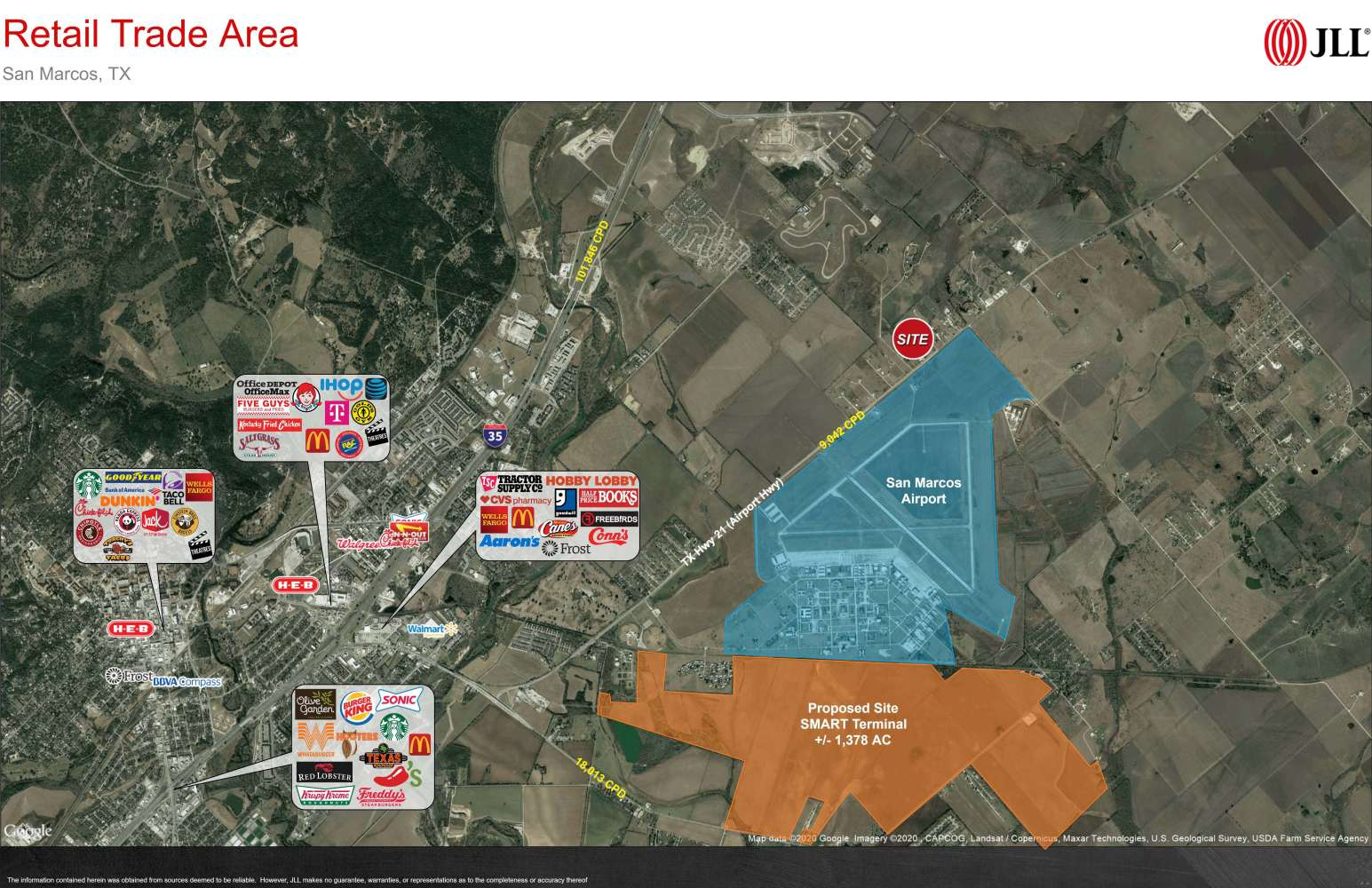 Land San marcos, 78666 - 4829 State Hwy 21 West