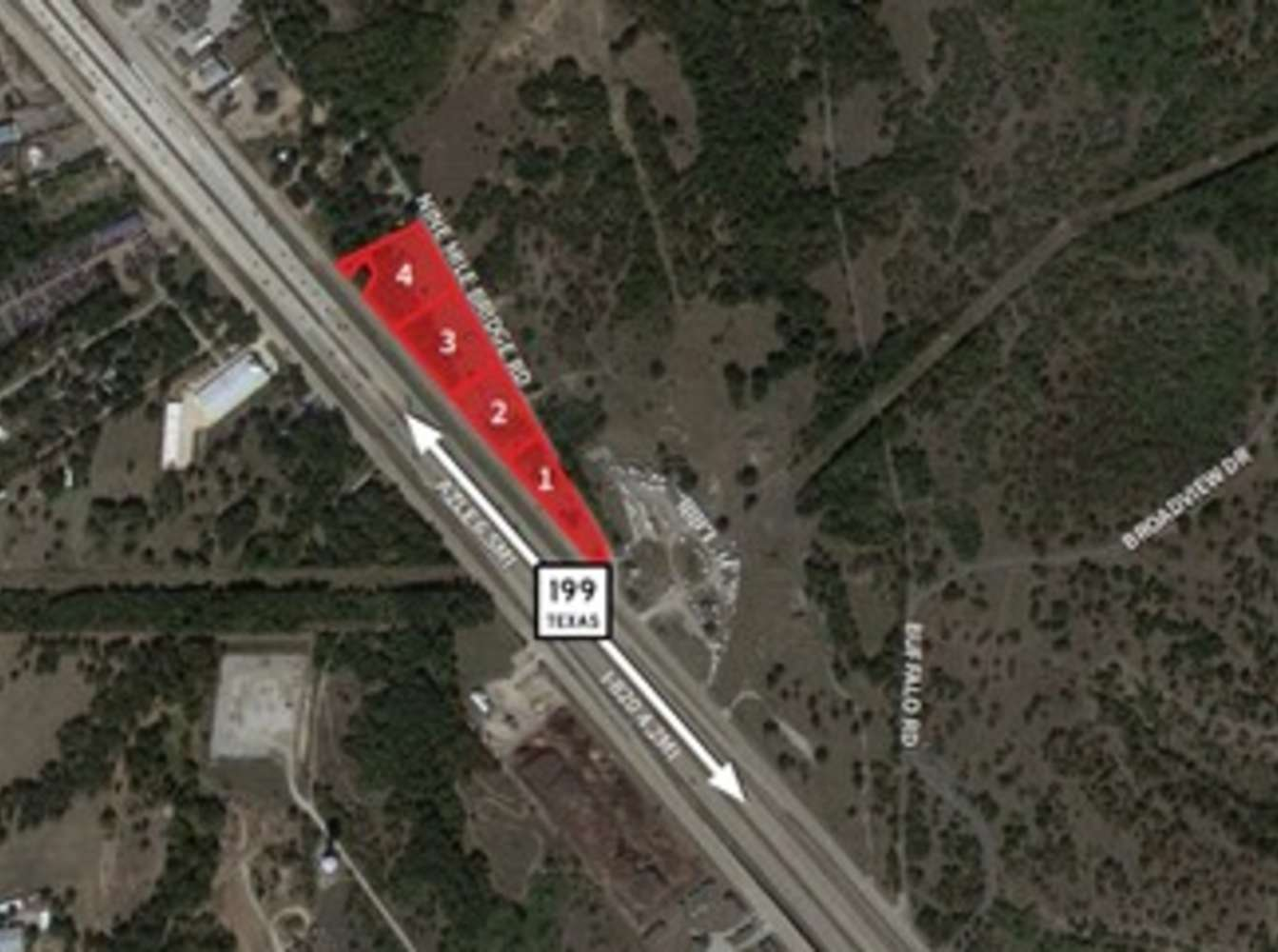 Land Fort worth, 76135 - 9150 Jacksboro Hwy