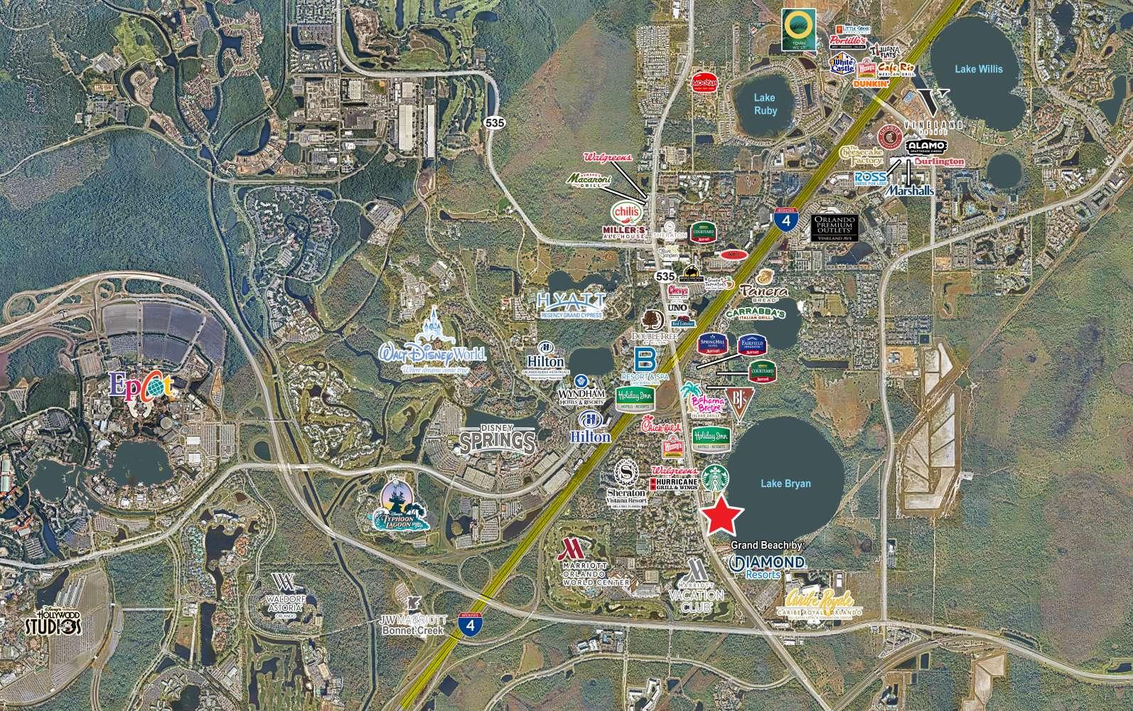 Land Orlando, 32821 - 13651 South Apopka Vineland Road