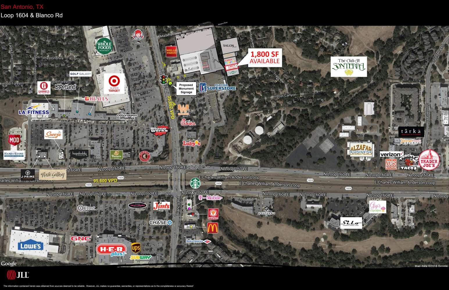 Retail San antonio, 78258-4006 - 18470 Blanco Road