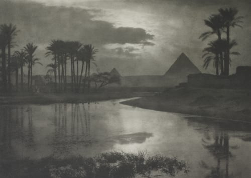 Abend An Den Pyramiden