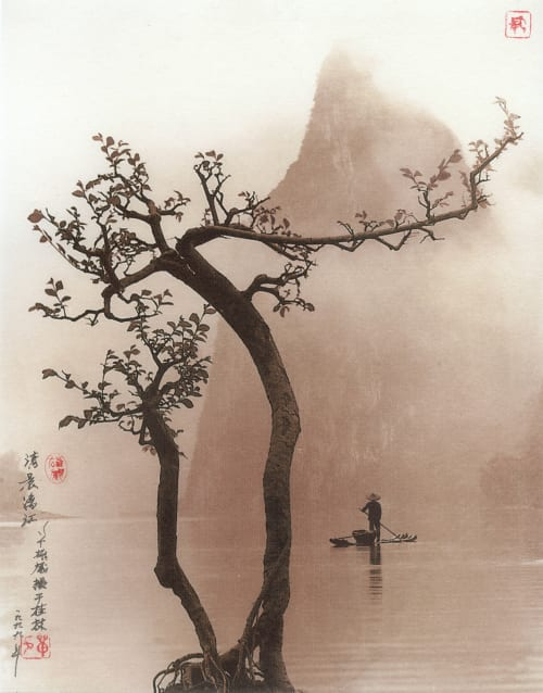 On the River Li, Guilin Hong-Oai, Don  (Chinese, 1929-2004)
