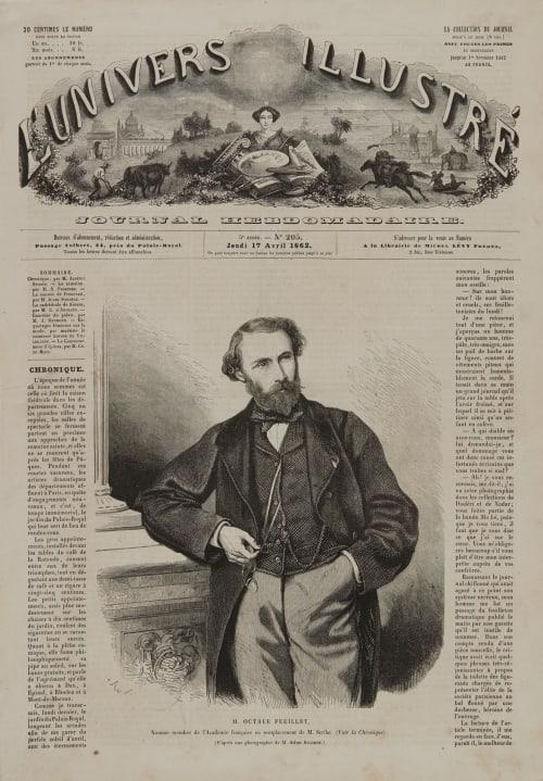 M. Octave Feuillet Adam-Salomon, Antoine Samuel  (French, 1811-1881)