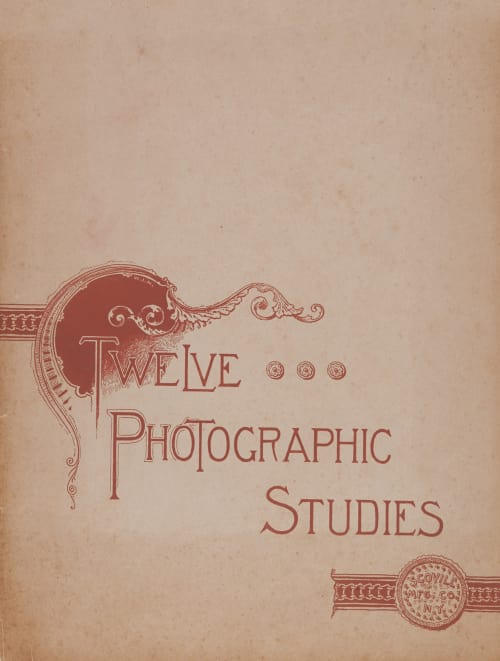 Twelve Photographic Studies Various  (American)