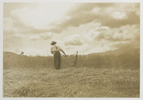The Harvest-Time, Egremont. Scott, Arthur  (American)